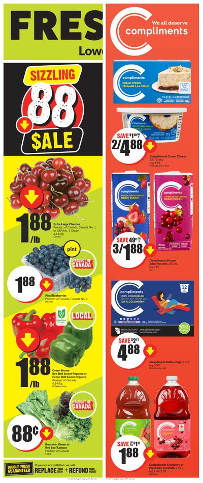 FreshCo (ON) Flyer August 5 to 11