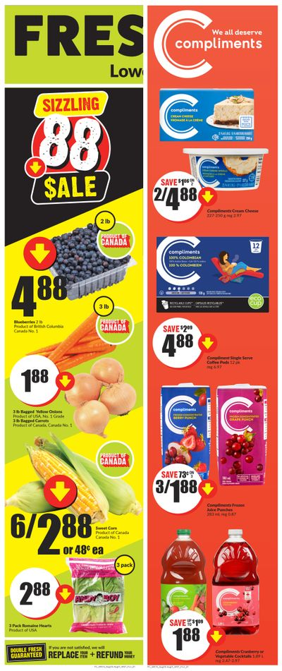 FreshCo (West) Flyer August 5 to 11