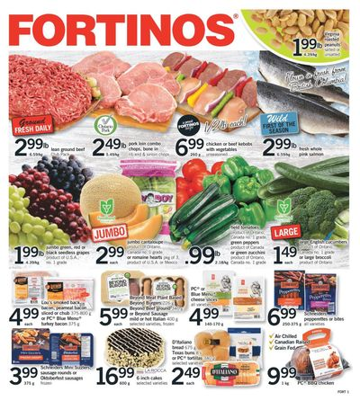 Fortinos Flyer August 5 to 11