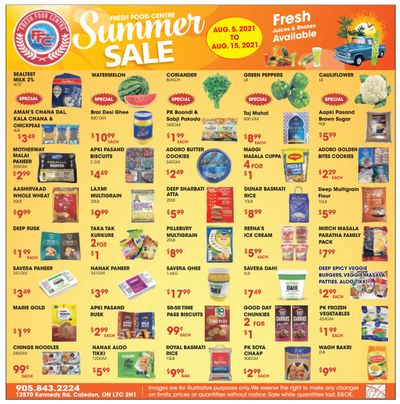 Fresh Food Centre Flyer August 5 to 15