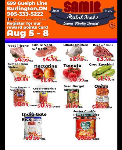 Samir Supermarket Flyer August 5 to 8
