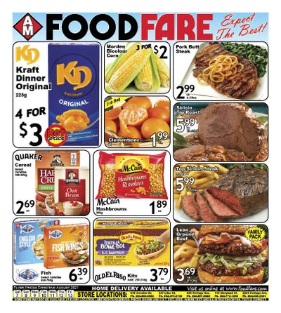 Food Fare Flyer August 7 to 13