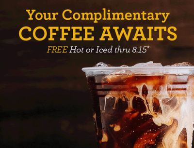 Shmear Society Members Can Score 1 Free Coffee with Purchase Daily Through to August 15 at Einstein Bros. Bagels