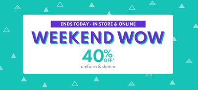 Carter's OshKosh B'Gosh Canada Sale: Today, Save 40% off Uniform & Denim + More Deals
