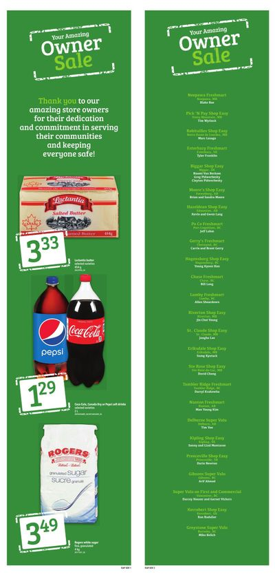 Shop Easy & SuperValu Flyer August 13 to 19