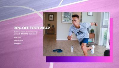 Adidas Canada Back to School Sale: Save 30% Off Footwear Using Promo Code