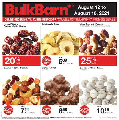 Bulk Barn Flyer August 12 to 18