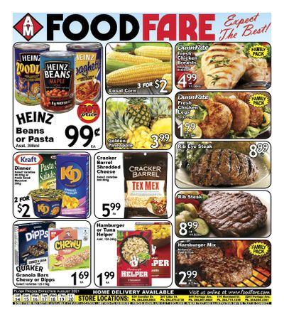 Food Fare Flyer August 14 to 20