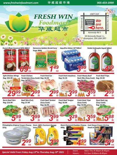 Fresh Win Foodmart Flyer August 13 to 19