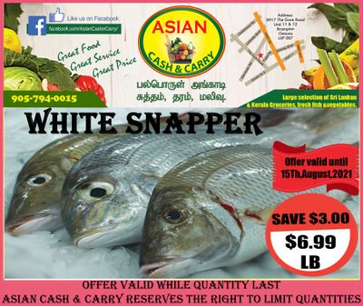 Asian Cash & Carry Flyer August 13 to 19