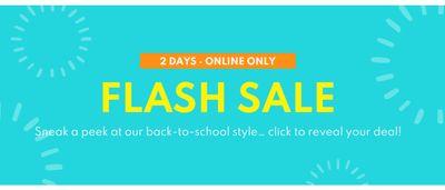 Carter's OshKosh B'Gosh Canada FLASH SALE: Save on Back-to-School Styles & More