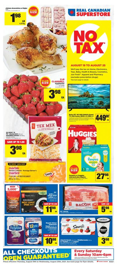 Real Canadian Superstore (ON) Flyer August 19 to 25