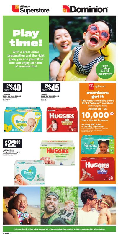 Dominion Baby Flyer August 19 to September 1