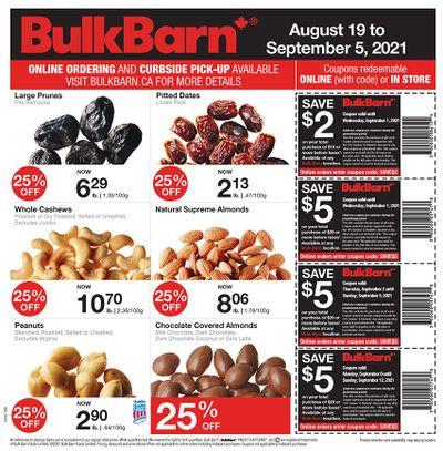 Bulk Barn Flyer August 19 to September 5