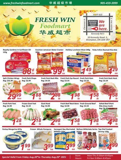Fresh Win Foodmart Flyer August 20 to 26