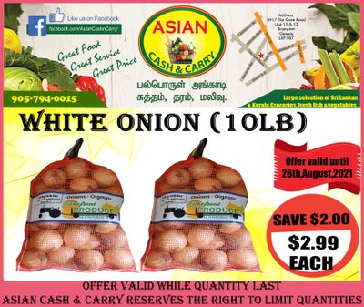 Asian Cash & Carry Flyer August 20 to 26