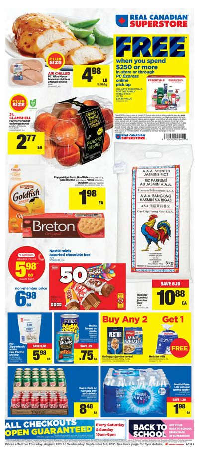 Real Canadian Superstore (ON) Flyer August 26 to September 1