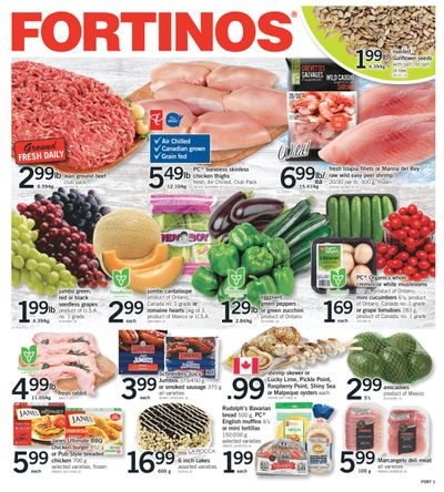 Fortinos Flyer August 26 to September 1