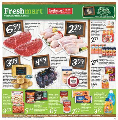 Freshmart (Atlantic) Flyer August 26 to September 1