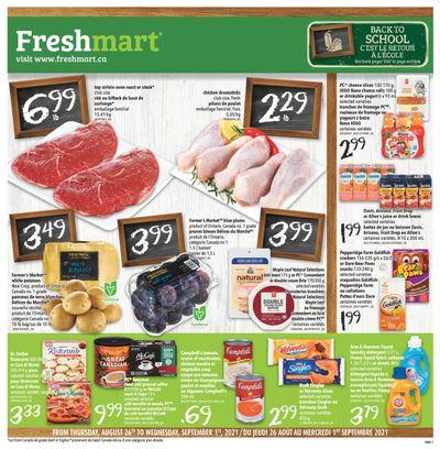 Freshmart (ON) Flyer August 26 to September 1