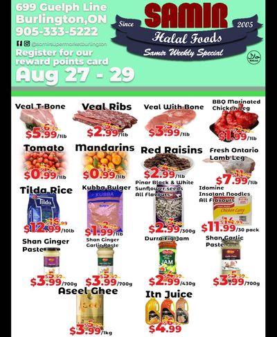 Samir Supermarket Flyer August 27 to 29