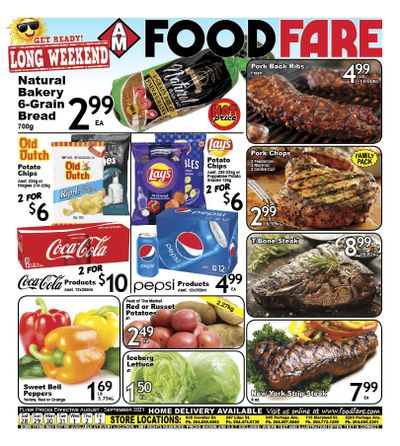 Food Fare Flyer August 28 to September 3