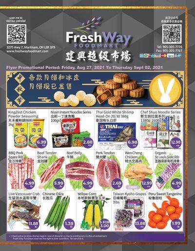 FreshWay Foodmart Flyer August 27 to September 2