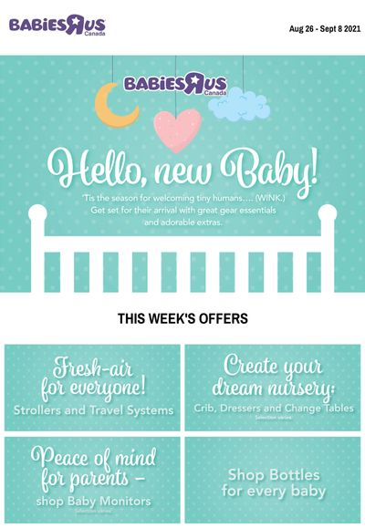 Babies R Us Flyer August 26 to September 8