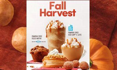 Seasonal Pumpkin Spice Favorites! at Tim Hortons