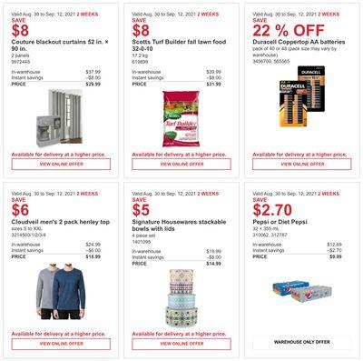 Costco Canada MoreSavings Weekly Coupons/Flyers for: Ontario, New Brunswick, Newfoundland & Labrador and Nova Scotia, Until September 12