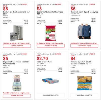 Costco Canada More Savings Weekly Coupons/Flyers for Western Canada: British Columbia, Alberta, Saskatchewan & Manitoba, until September 12