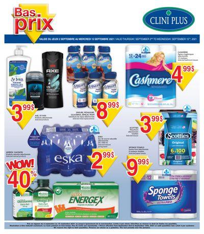 Clini Plus Flyer September 2 to 15