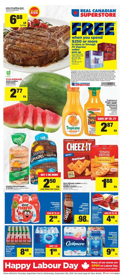 Real Canadian Superstore (ON) Flyer September 2 to 8