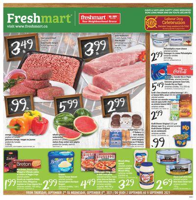 Freshmart (Atlantic) Flyer September 2 to 8