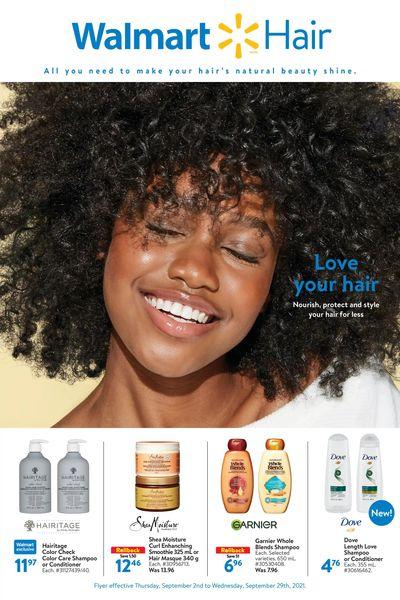 Walmart Love Your Hair Flyer September 2 to 29