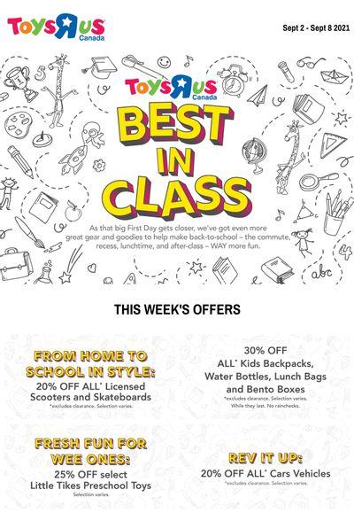 Toys R Us Flyer September 2 to 8