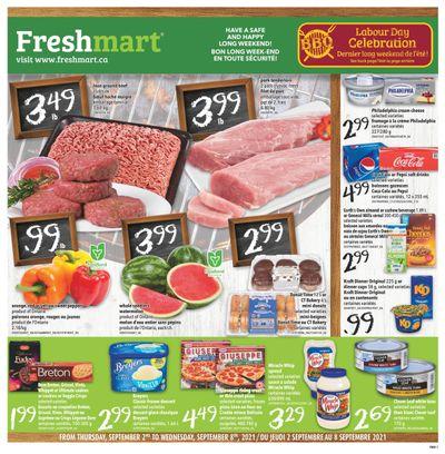 Freshmart (ON) Flyer September 2 to 8