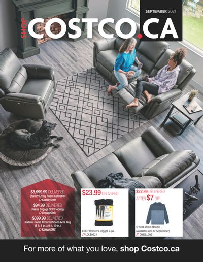 Costco Online Catalogue September 1 to 30