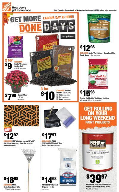 Home Depot (Atlantic) Flyer September 2 to 8