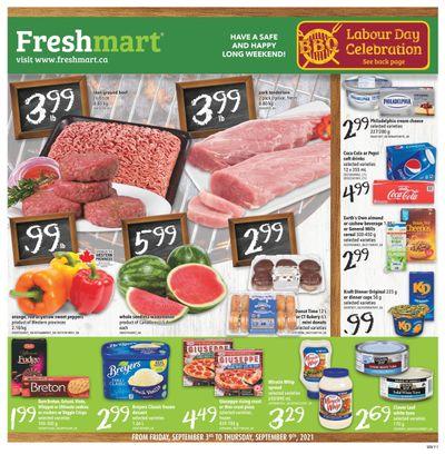 Freshmart (West) Flyer September 3 to 9