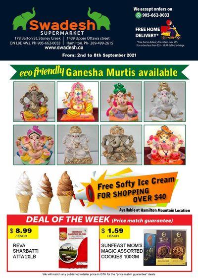 Swadesh Supermarket Flyer September 2 to 8