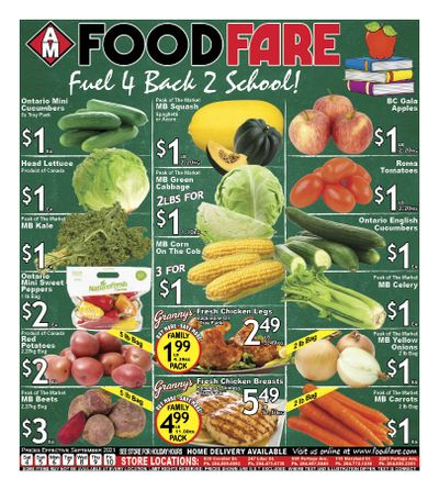 Food Fare Flyer September 4 to 10