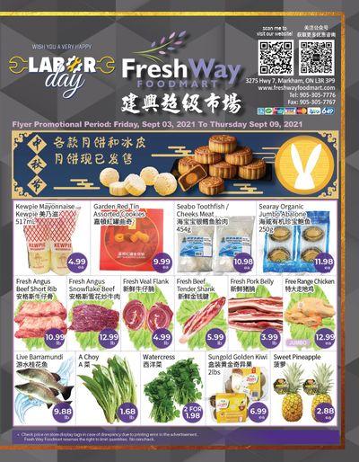 FreshWay Foodmart Flyer September 3 to 9