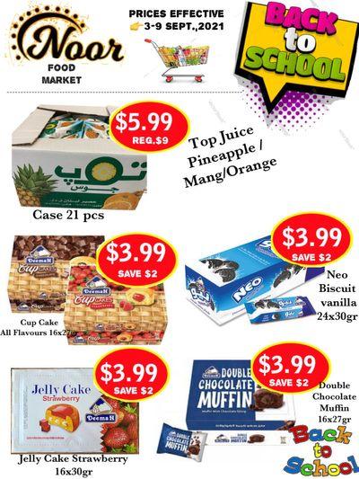 Noor Food Market Flyer September 3 to 9
