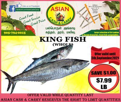 Asian Cash & Carry Flyer September 3 to 9