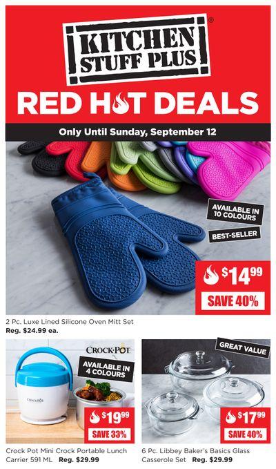 Kitchen Stuff Plus Red Hot Deals Flyer September 7 to 12