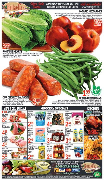 Battaglia's Marketplace Flyer September 8 to 14