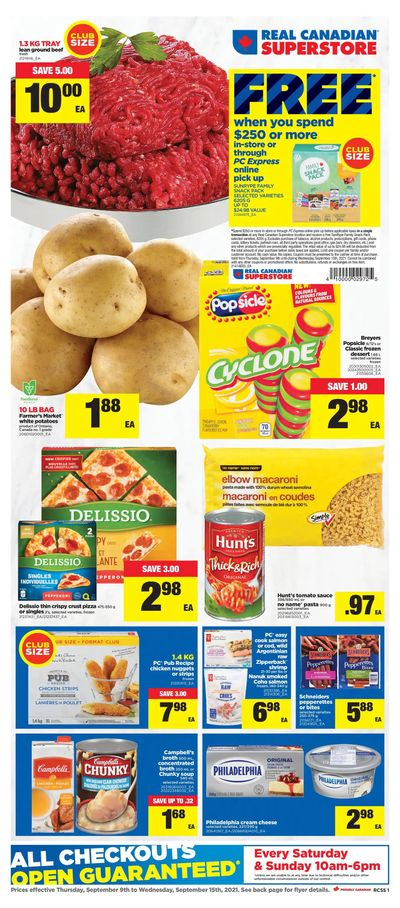 Real Canadian Superstore (ON) Flyer September 9 to 15