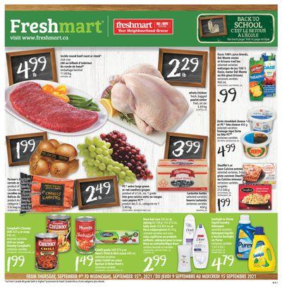 Freshmart (Atlantic) Flyer September 9 to 15