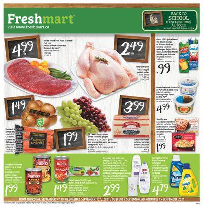 Freshmart (ON) Flyer September 9 to 15